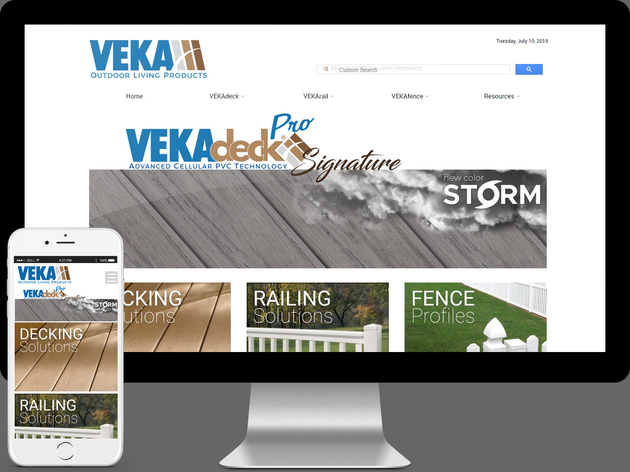 VEKA OLP Web Design and Development